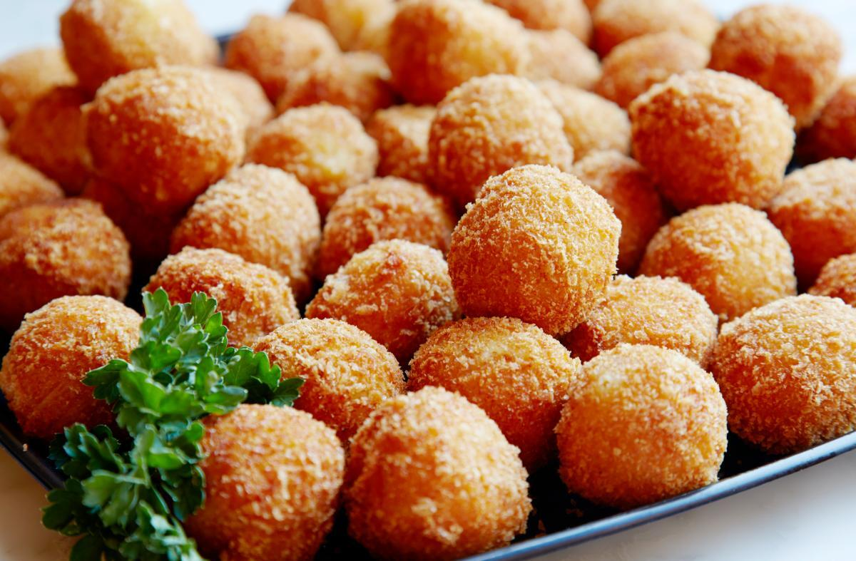 Porto's potato balls | Courtesy of Porto's