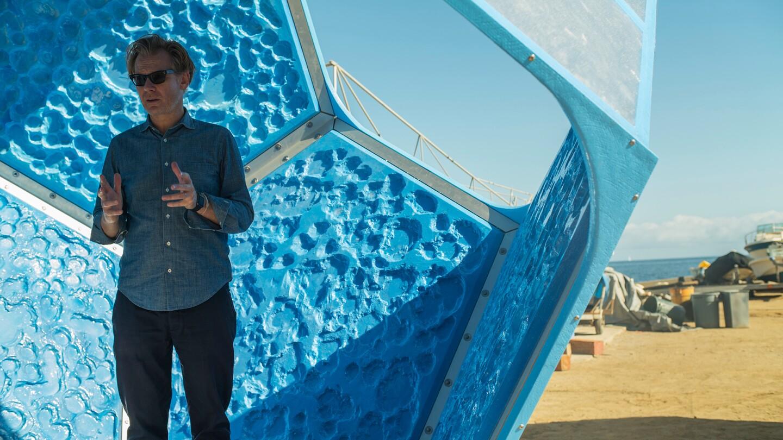 "Doug Aitken, ""Underwater Pavilions.""   Photo: Matt Crotty"