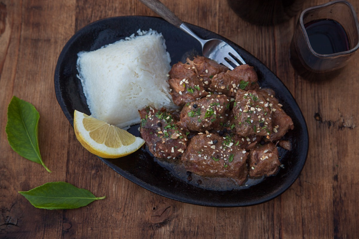 7 Mile House's Adobo with Rice | Toni Zernick