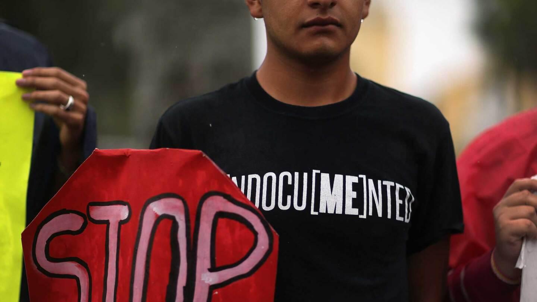 undocumented protest