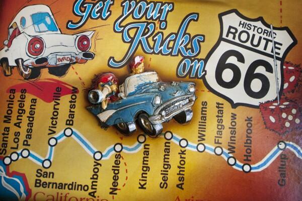 Relief map inside the Historic Route 66 museum. | Photo: Douglas McCulloh