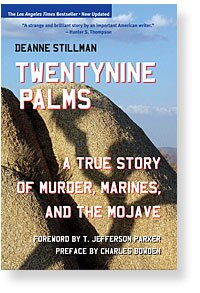 """Book cover for """"Twentynine Palms"""" by Deanne Stillman.   Courtesy of the author."""