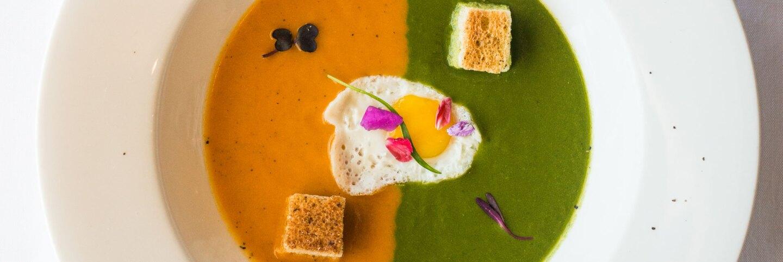 LA Mexicano Babita Roasted Papaya and Cilantro Soups   Staci Valentine