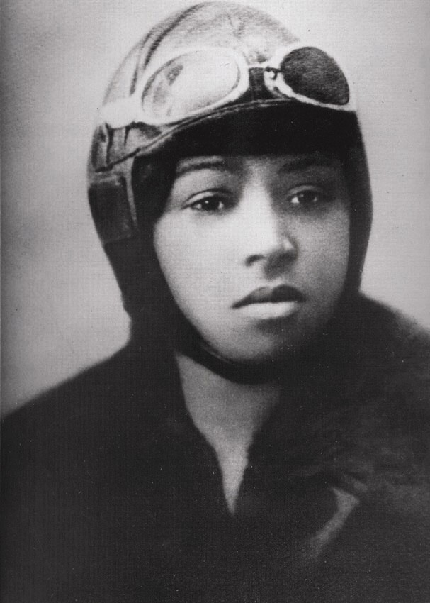 Bessie Coleman First African American licensed Pilot Photo was taken for her license, June 15, 192. | Wikimedia Commons