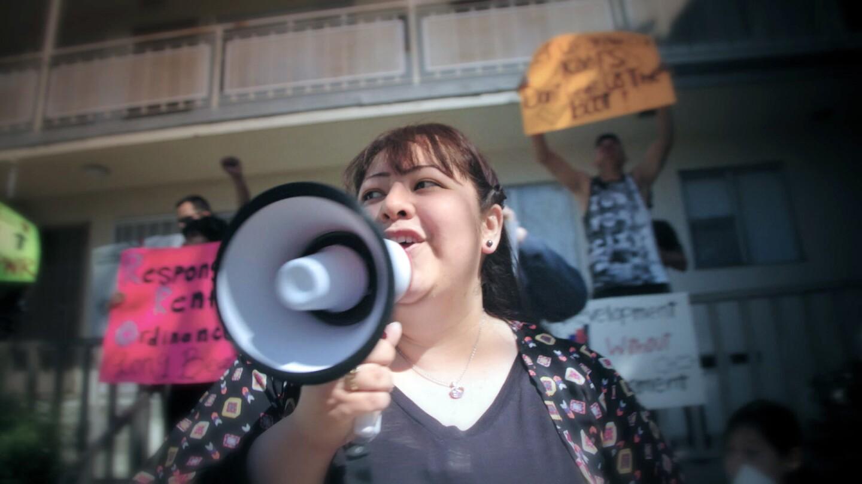 City Rising: Brenda Protesting