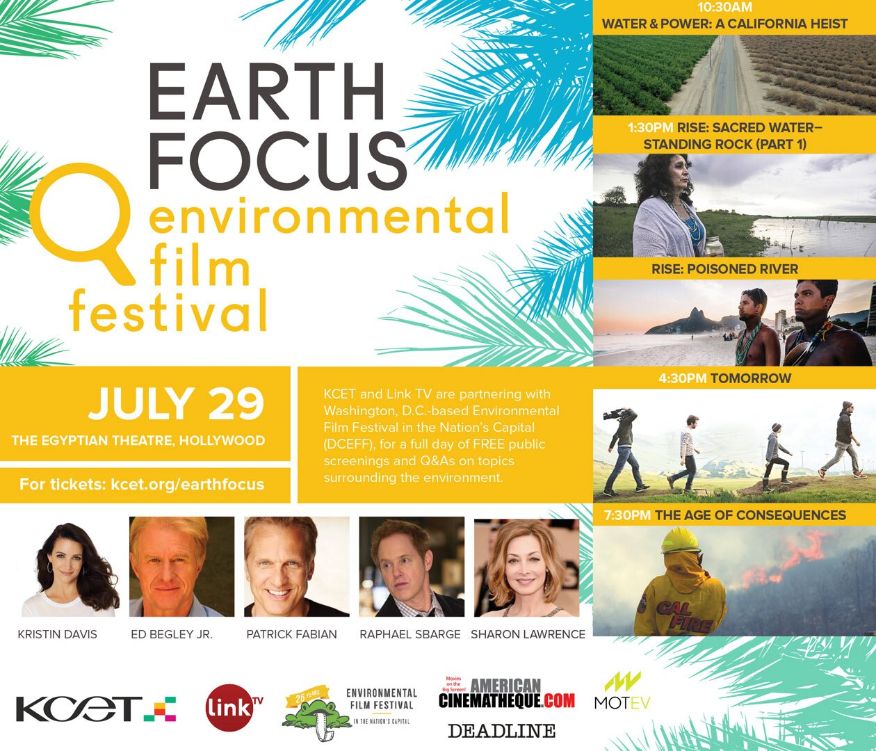 Earth Focus Environmental Film Festival Invite