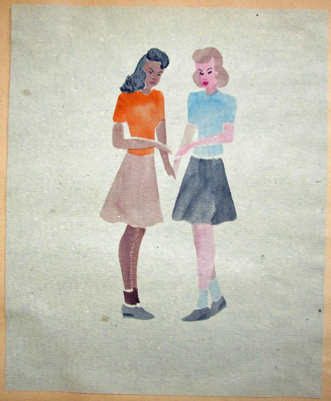 Poston girls   Courtesy of Bill Bell