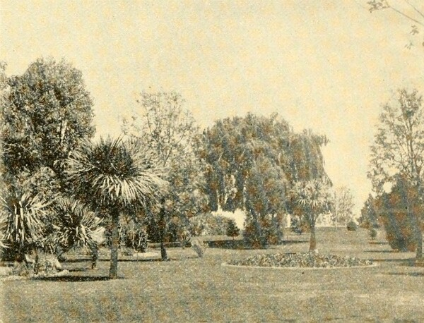 Photograph of Prospect Park from the promotional book 'Beautiful Highlands of Los Angeles.'
