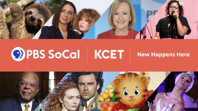 KCET/PBS SoCal Combined Rebranding Key Art