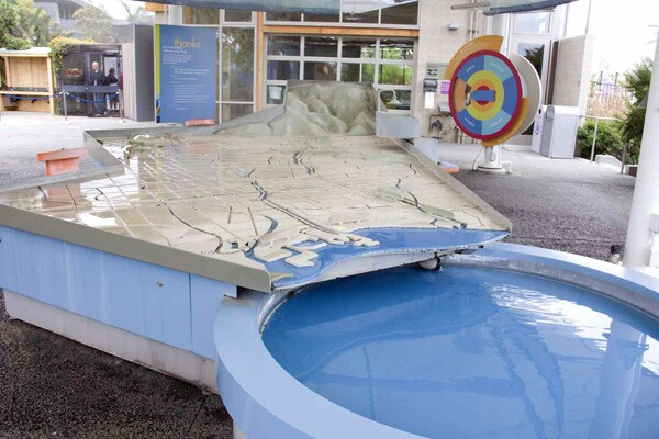 The new steelhead exhibit enriches the current exhibit on local watersheds