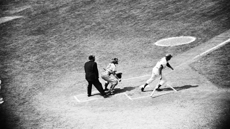 Dodgers versus Cubs, 1958