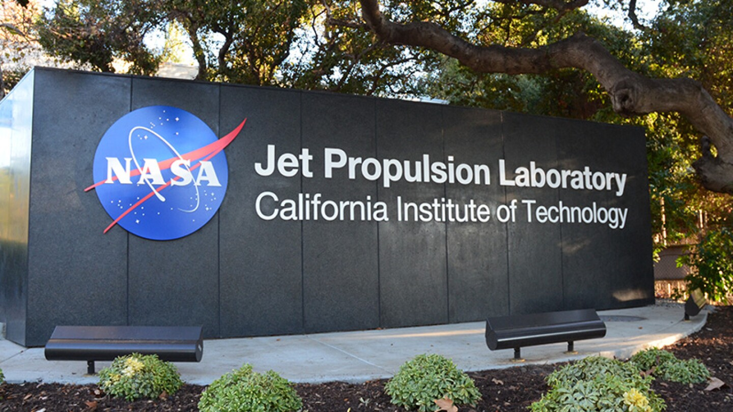Now: JPL entrance in 2016.