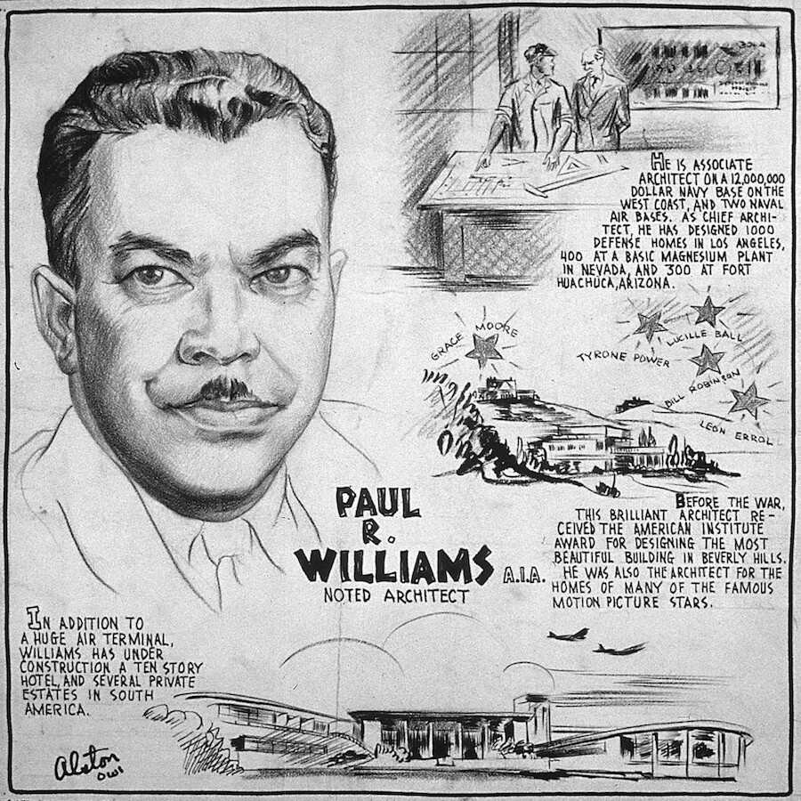 Paul Revere Williams, AIA Noted Architect