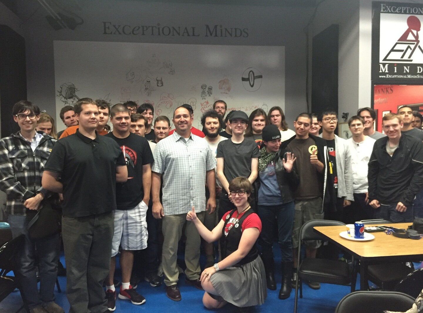 Exceptional Minds student group photo