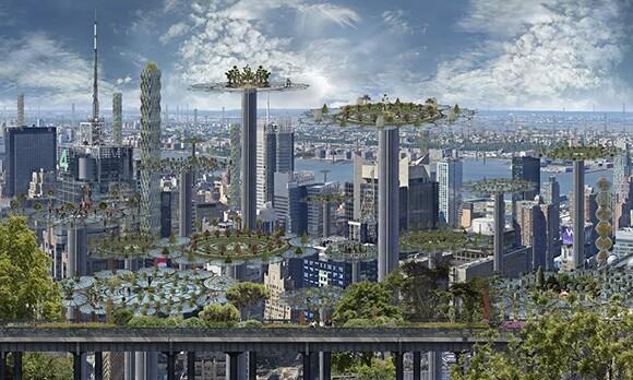 Image: Jean-Francois Rauzier Manhattan.