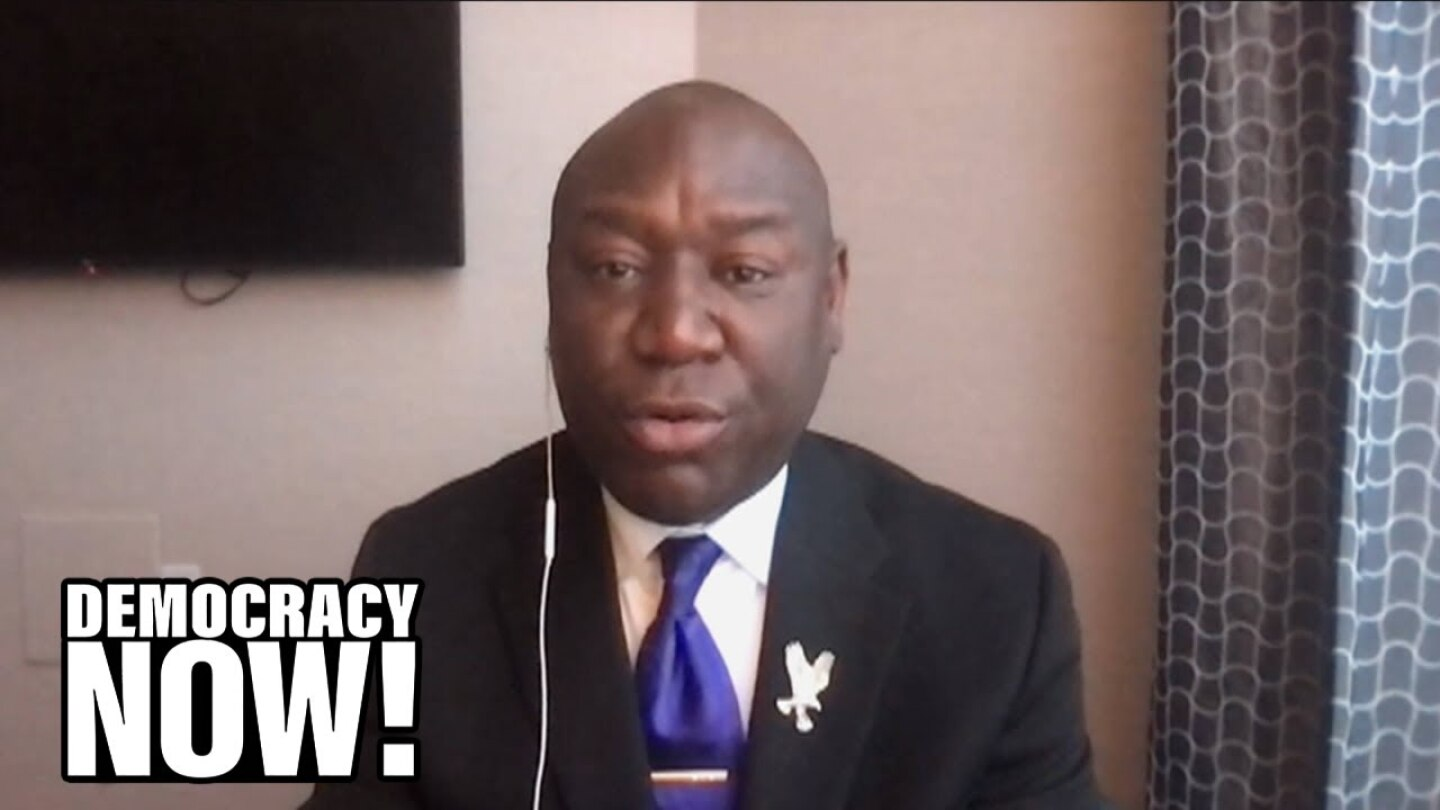 "Civil rights attorney Benjamin Crump speaking on ""Democracy Now!"""