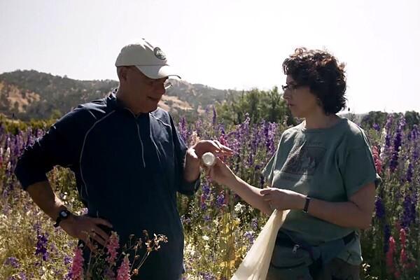 Claire Kremen with Mark Bittman