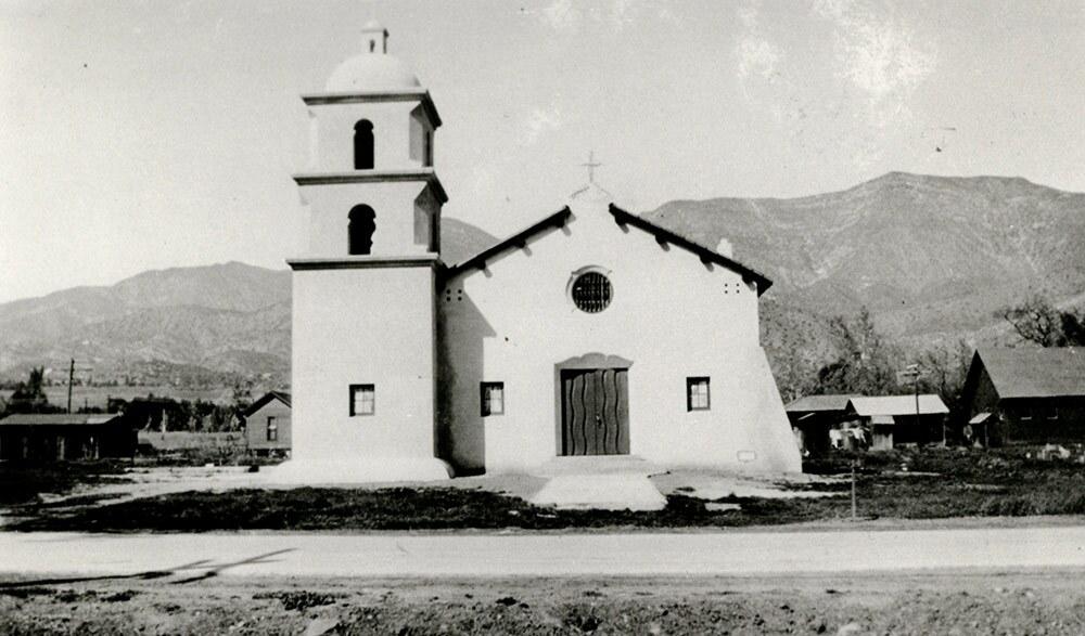 Catholic Church, Ojai, Archival