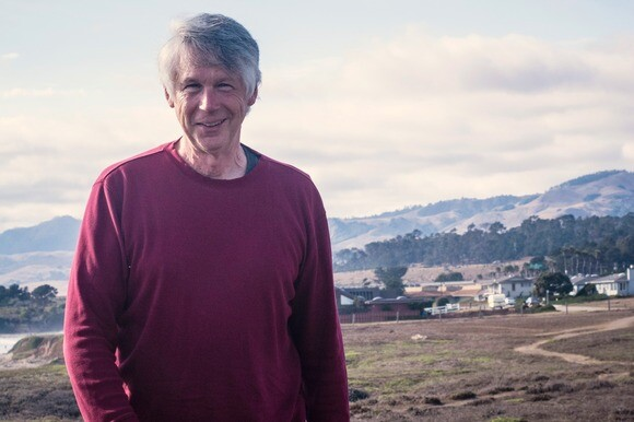 Classical composer Mark Abel spends time each day walking the trail near his San Simeon home. | Chris Daly