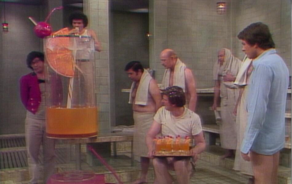 Scene from Steambath