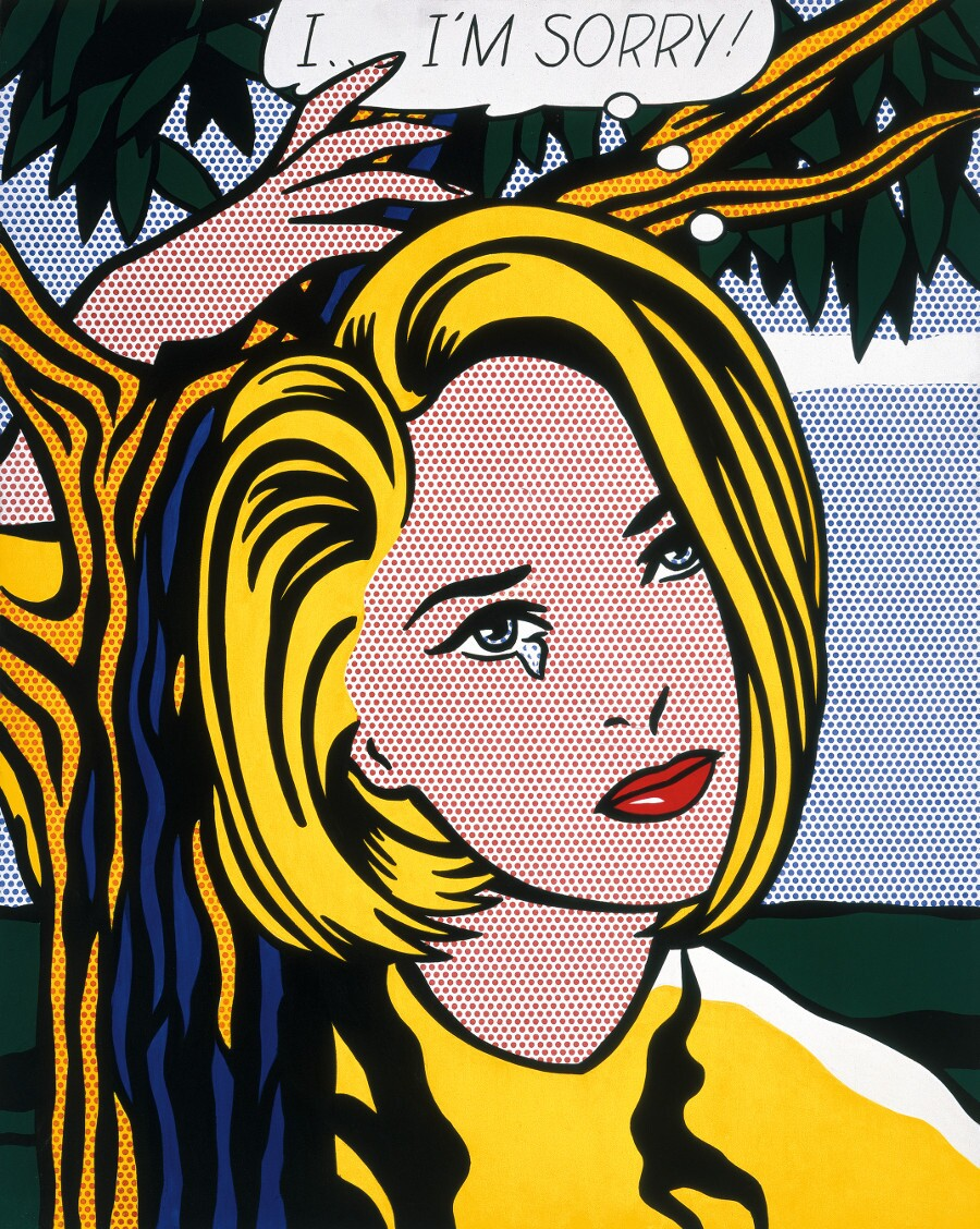 """I... I'm sorry"" by Roy Lichtenstein. 