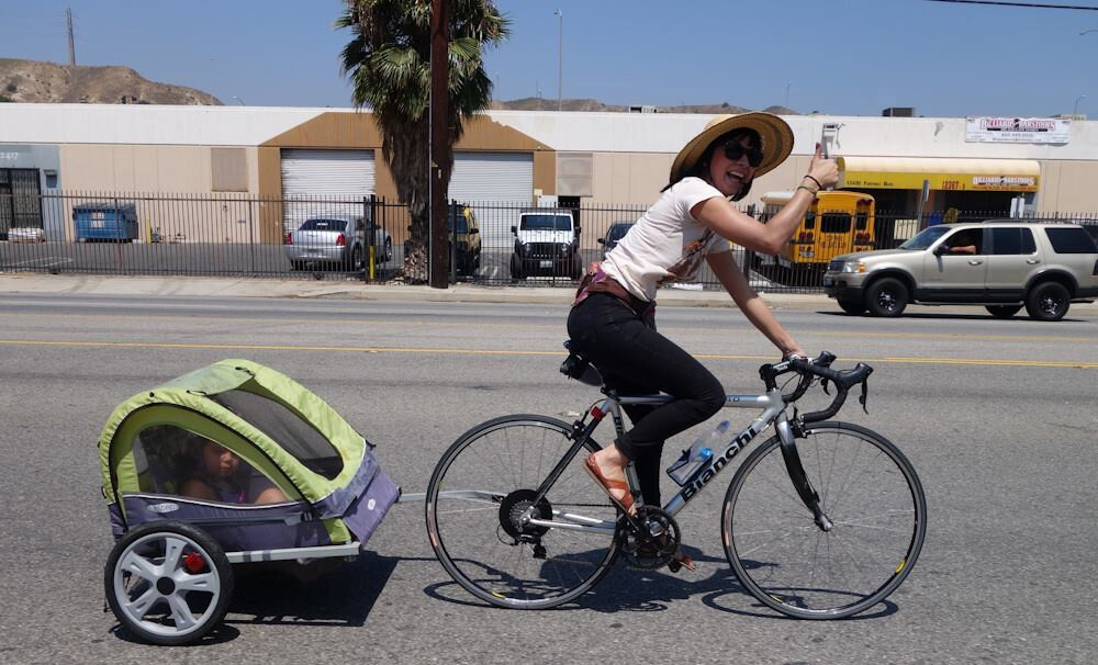 OP bike mom