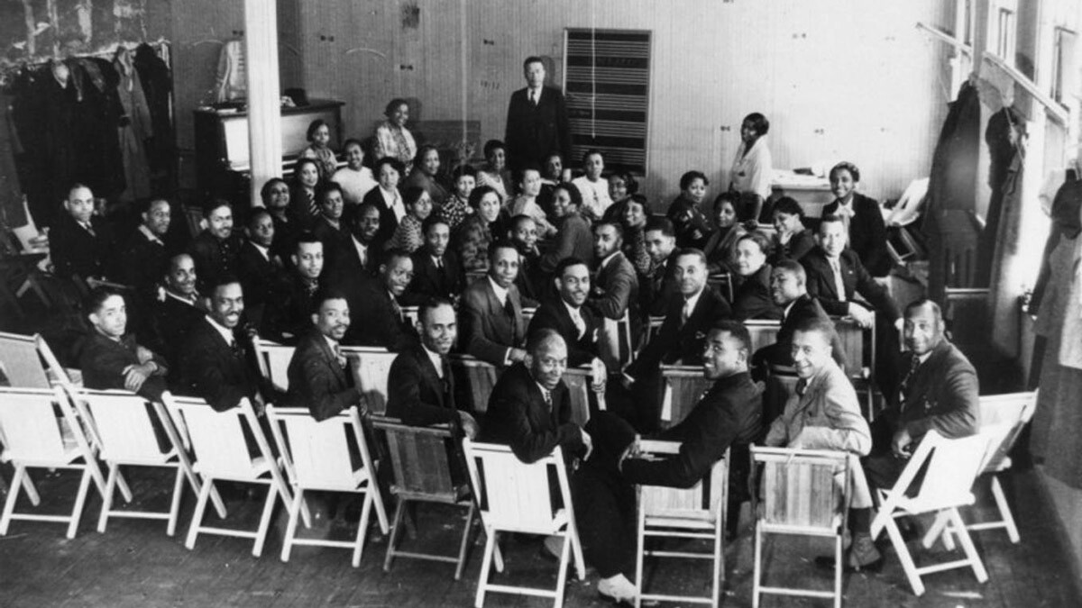 Hall Johnson Choir | Courtesy of Shades of L.A. Photo Collection, Los Angeles Public Library ABs10 Gospel