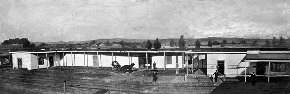 Palacio de Don Abel, ca. 1857.