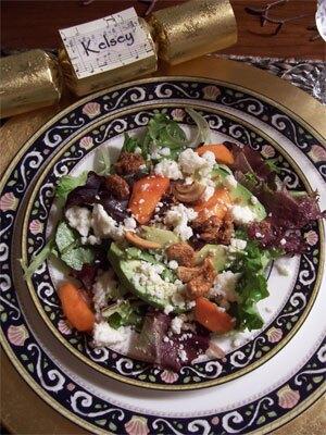Xmas Eve Salad: Harbinger of Salads to Come
