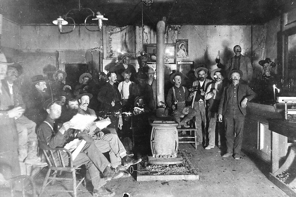 Darwin, California in 1906