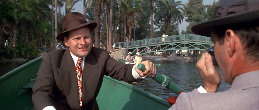 """Echo Park Lake as seen in 1974's """"Chinatown."""""""
