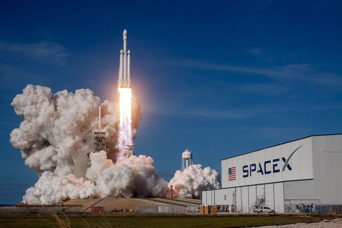 """From episode four: """"Back to the Future"""" The Space X Falcon Heavy. Courtesy of Flickr."""