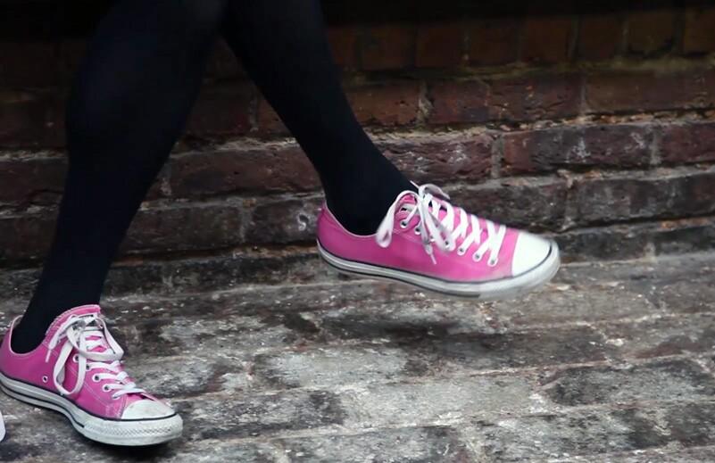 Sarah Franken's shoes