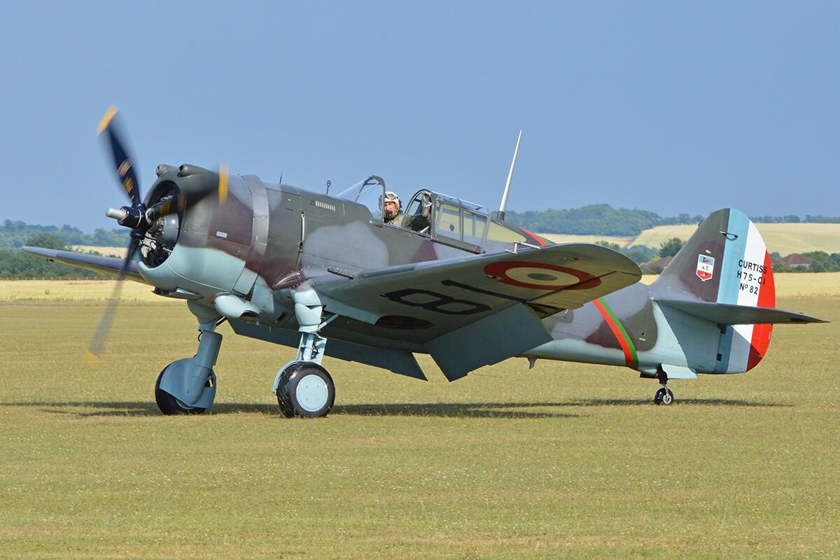 A Curtiss Hawk 75 | Flickr/Alan Wilson/Creative Commons (CC BY-SA 2.0)