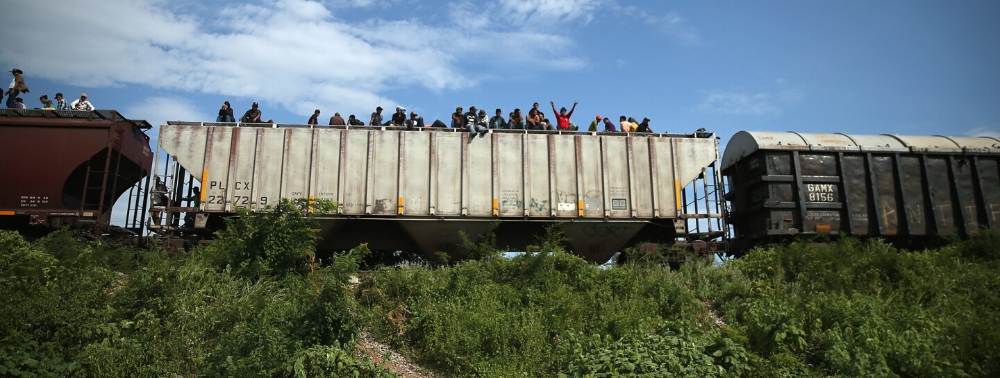 Central Americans Traverse Mexico On Grueling Journey To U.S.