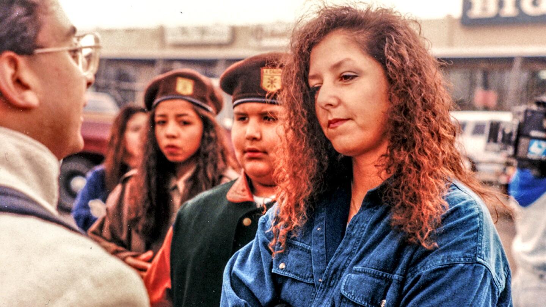 Brown Beret protesters in 1994. | David Prasad/Flickr/Creative Commons