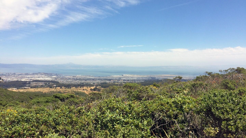 view from sweeney ridge san francisco
