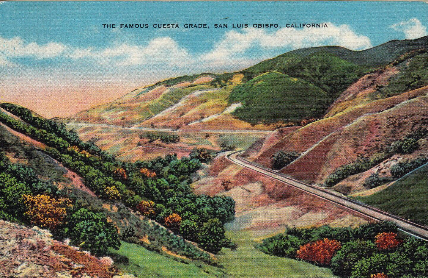 The Cuesta Grade, a stretch of Highway 101 located just north of San Luis Obispo, connects the city with communities such as Atascadero and Paso Robles.