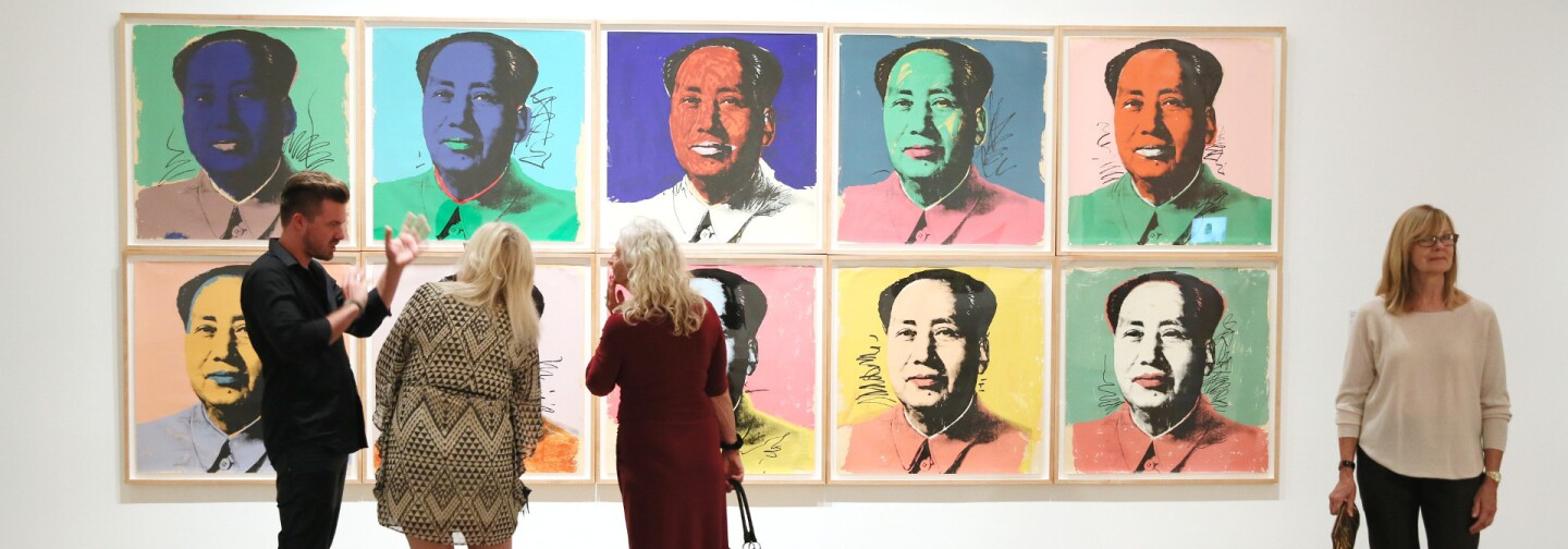 "From the OCMA collections: Andy Warhol, ""Mao"" (primary)"