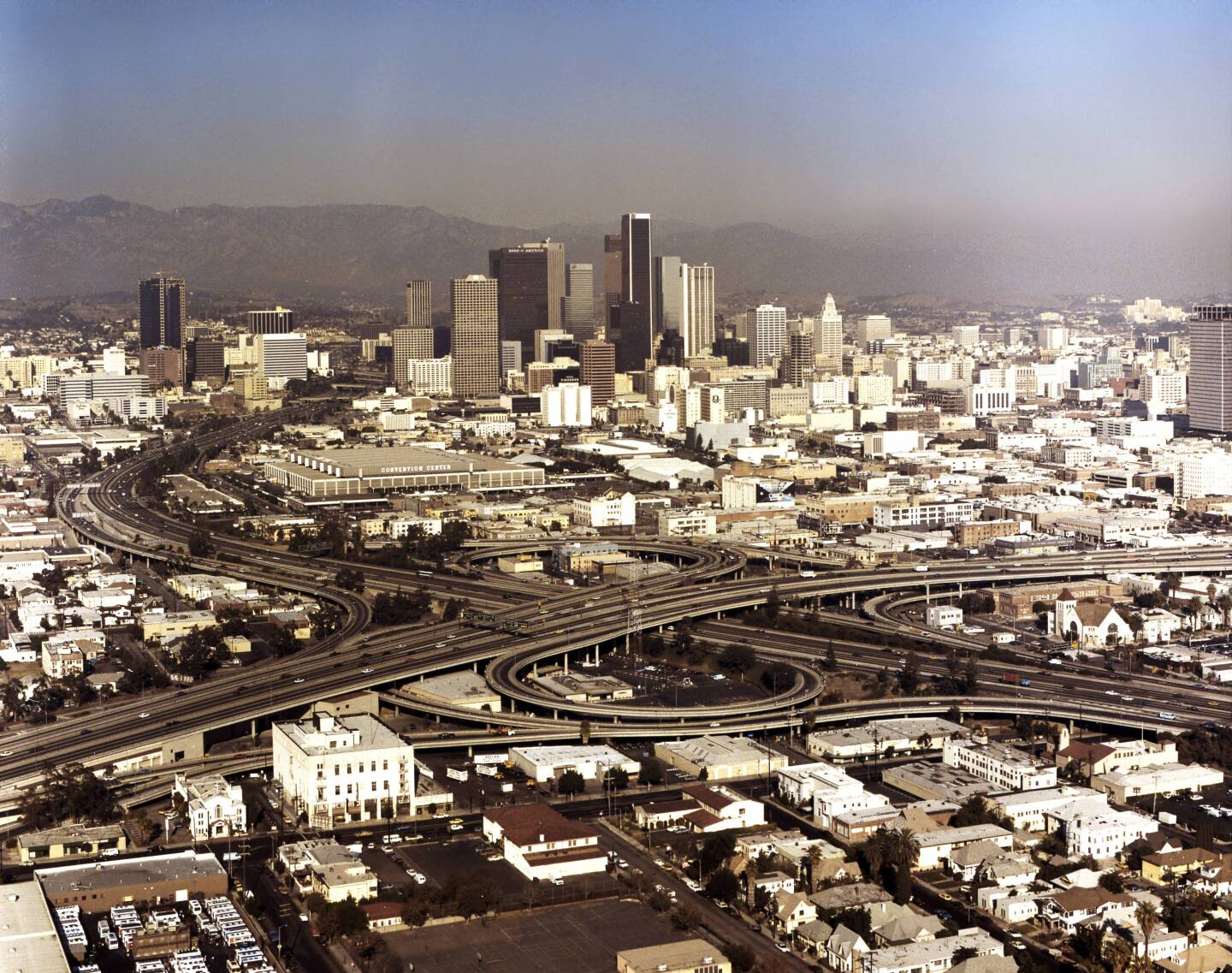 Downtown Los Angeles in 1985