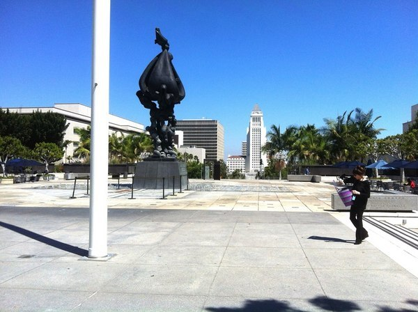 Grand Park and Jacques Lipchitz's Peace on Earth