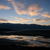 Badwater Basin in Death Valley National Park at sunset | Photo: Zach Behrens/KCET