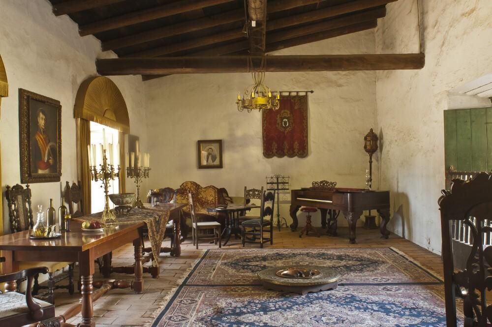 Sala of La Casa De Estudillo
