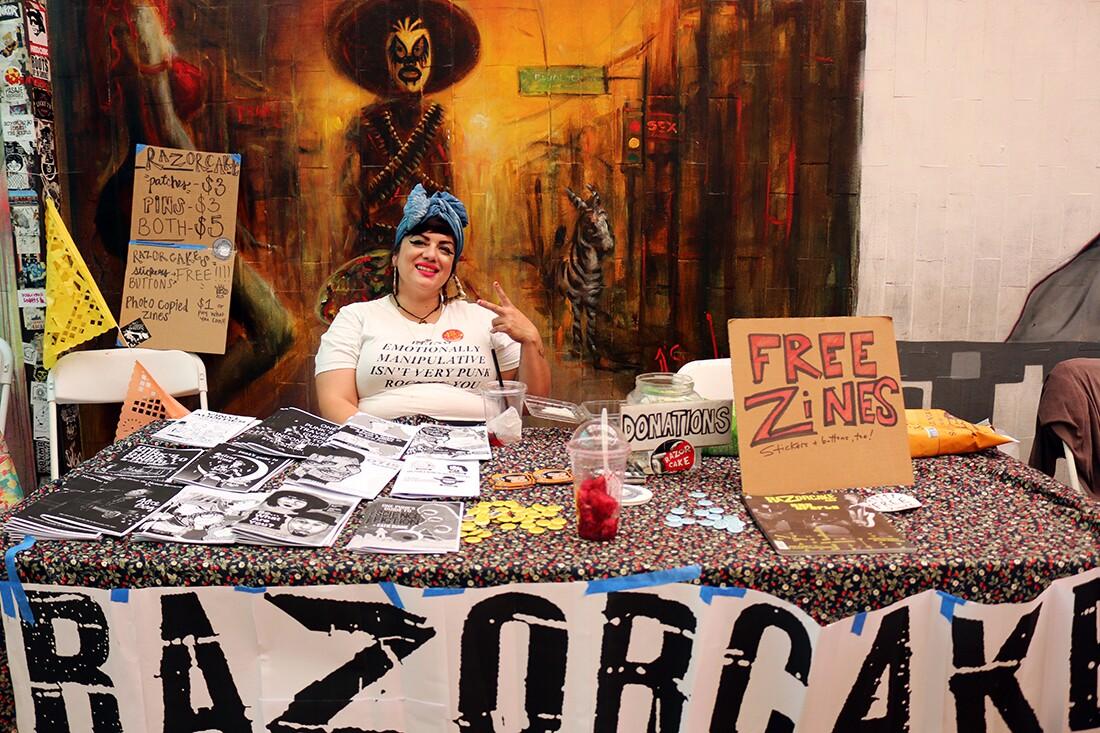 Razorcake Zine from Los Angeles | Samanta Helou Hernandez