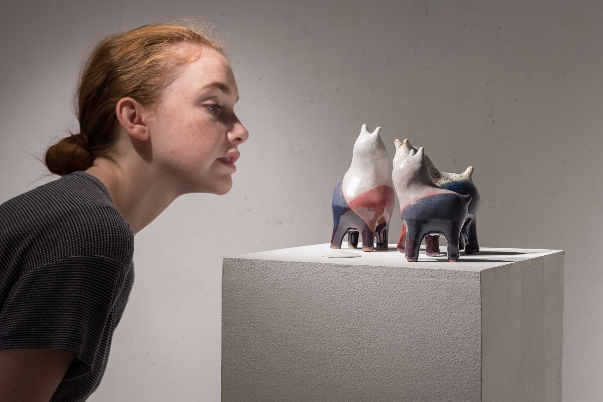 kozyndan's ceramic bunnies | Courtesy of kozyndan