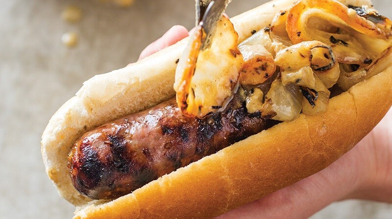 Grilled Brats and Beer