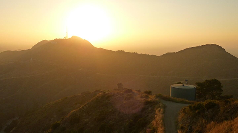 Griffith Park sunset