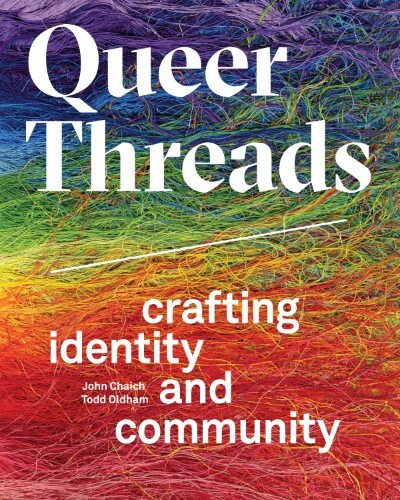 """Queer Threads"" book cover 