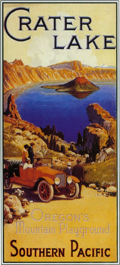 1916 travel brochure