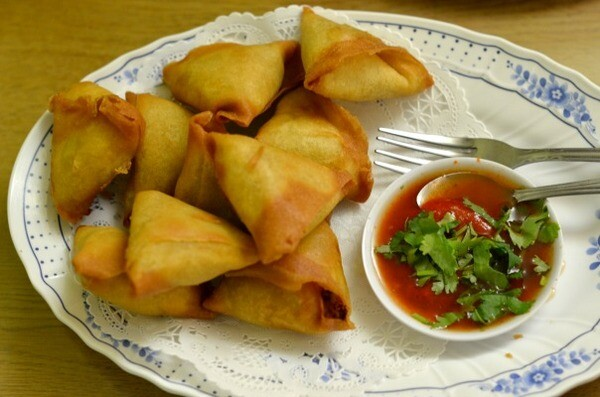 Samosas from Yoma Myanmar | Photo by Clarissa Wei